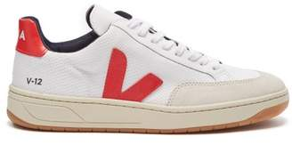Veja V 12 Low Top Trainers - Womens - Red White