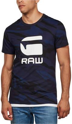 G Star Men Camo Logo T-Shirt
