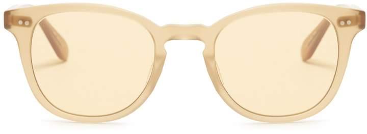 Garrett Leight Mckinley round-frame sunglasses