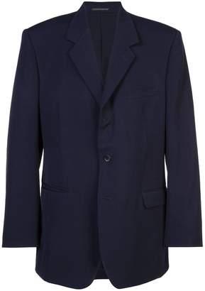 Yohji Yamamoto boxy suit jacket