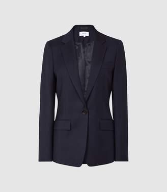 Reiss Fenton Jacket - Slim Fit Blazer in Navy
