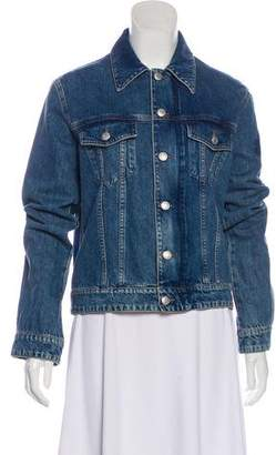Zadig & Voltaire Zip-Up Denim Jacket