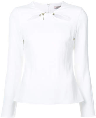 Cushnie et Ochs cut out blouse