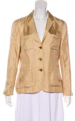 Prada Silk Lightweight Blazer
