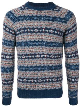 Lardini · Crew Jumper At Neck Patterned Farfetch 4E7Aaq