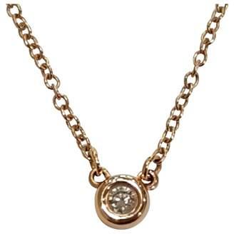Tiffany & Co. Elsa Peretti pink gold pendant