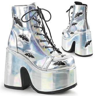Demonia Women's Cam201/Shg-Bvl Ankle Bootie