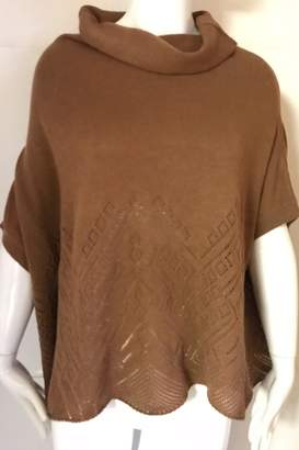 Yoon Camel Cowl-Neck Sweater