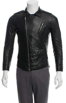 Rick Owens Moody Stooges Leather Jacket