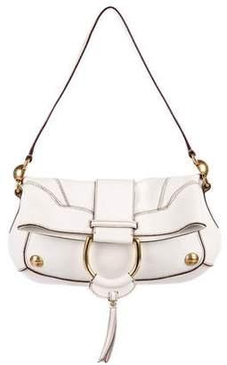 Dolce & Gabbana Pebbled Leather Shoulder Bag