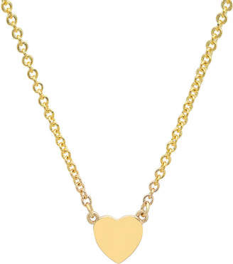 Established Jewelry 14k Gold Heart-Charm Choker Necklace