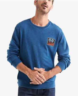 Lucky Brand Men Faded Patch Sweatshirt