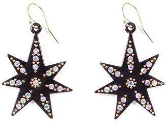 Lulu Frost Orana Black Star Earrings