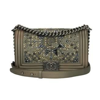 Chanel Boy leather bag