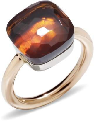 Pomellato Nudo Madeira Quartz Maxi Ring