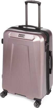 """Kenneth Cole Reaction 24"""" Rose Pink Wheel Perks Upright Spinner"""