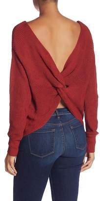 Cotton Emporium Knot Back Sweater