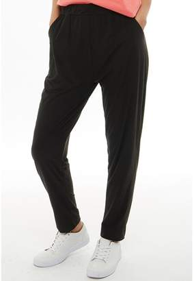 Board Angels Womens Harem Trousers Black