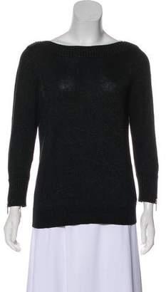 MICHAEL Michael Kors Metallic Bateau Neck Sweater