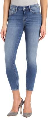 Mavi Jeans Gold Adriana Stretch Super Skinny Ankle Jeans