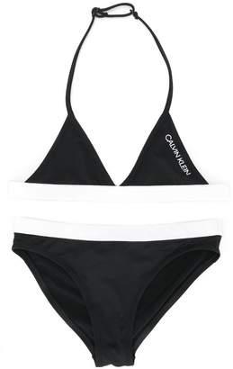 Calvin Klein Kids triangle bikini set