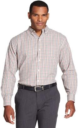 Van Heusen Men's Flex Classic-Fit Non-Iron Stretch Button-Down Shirt