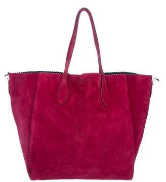 Rochas Scalloped Trimmed Tote