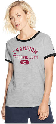 Champion Short Sleeve Crew Neck T-Shirt-Womens