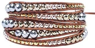 """Chan Luu Women's 32"""" Wrap Bracelet"""