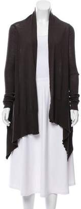 Rick Owens Wool Draped Cardigan