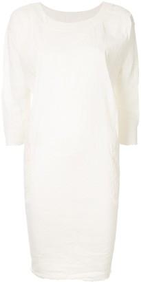 UMA WANG ruched detail short dress