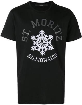 Billionaire graphic print T-shirt