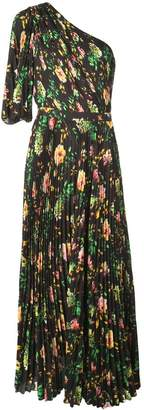 MSGM floral pleated dress