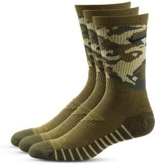 Nike Three-Pack Camouflage Crew Socks