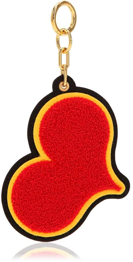 Red Heart Chenille Keychain