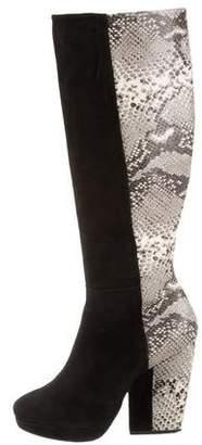 Pour La Victoire Platform Knee-High Boots