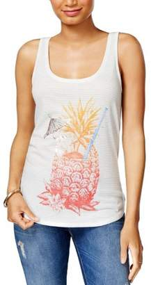 Lucky Brand Pineapple Graphic Tank Top