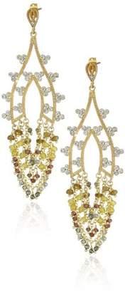 """Azaara Romantic"""" Lumière Drop Earrings"""