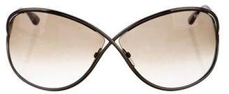 Tom Ford Miranda Oversize Sunglasses