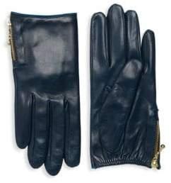 Portolano Side Zip Leather Gloves