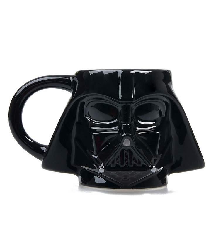 Black Star Wars Darth Vader Sculpted Ceramic Mug