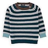 Il Gufo Infants' Striped Virgin Wool Sweater