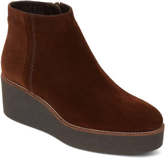 Aquatalia by Marvin K Chestnut Vina Weathproof Wedge Booties