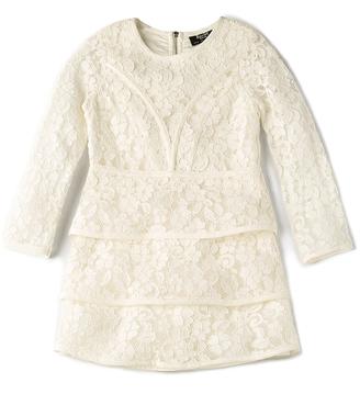 Bardot Junior Long Sleeve Sienna Dress $90 thestylecure.com