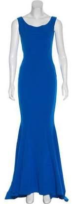 Chiara Boni Sleeveless Maxi Evening Dress