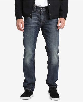 Silver Jeans Co. Mens Allan Classic-Fit Slim Jeans