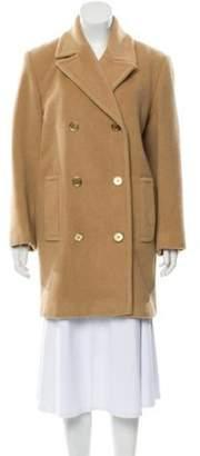 Michael Kors Camel Hair Knee-Length Coat Tan Camel Hair Knee-Length Coat