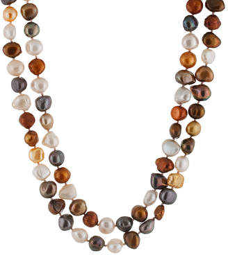 Splendid Pearls 8-10Mm Freshwater Pearl 64In Necklace