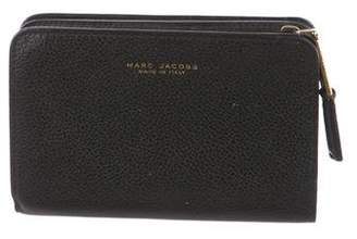 Marc Jacobs Pebbled Leather Zip Wallet