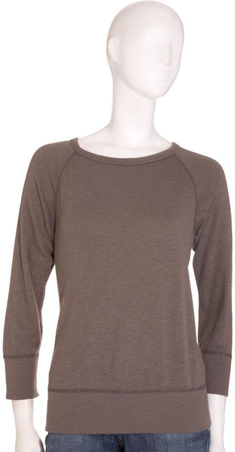 James Perse Vintage Short Sweatshirt